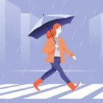梅雨時期の不調について